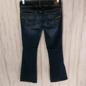 American Eagle Outfitters Jeans - American Eagle Super Stretch Kick Boot Jeans